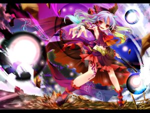 Rating: Safe Score: 18 Tags: hakurei_reimu kamiya_yuu touhou wallpaper User: fairyren
