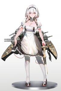 Rating: Questionable Score: 22 Tags: azur_lane cleavage ihobus maid pantyhose sirius_(azur_lane) sword User: Dreista