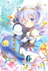 Rating: Safe Score: 28 Tags: gochuumon_wa_usagi_desu_ka? kafuu_chino koi mermaid monster_girl tail tippy_(gochuumon_wa_usagi_desu_ka?) User: aaayu