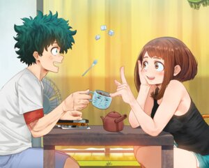 Rating: Safe Score: 35 Tags: boku_no_hero_academia midoriya_izuku steamy_tomato uraraka_ochako User: Spidey