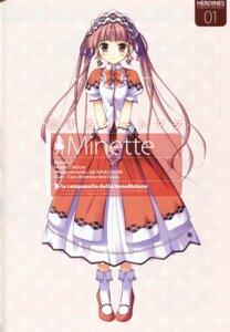 Rating: Safe Score: 14 Tags: dress ko~cha minette profile_page shukufuku_no_campanella User: admin2