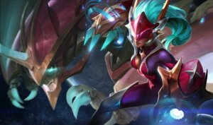 Rating: Questionable Score: 3 Tags: bodysuit league_of_legends tagme thighhighs weapon User: Radioactive