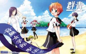 Rating: Safe Score: 6 Tags: kirihara_izumi megane seifuku thighhighs wallpaper User: Korino