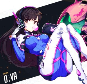 Rating: Questionable Score: 97 Tags: bodysuit d.va headphones hwansang overwatch User: nphuongsun93