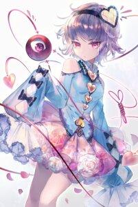 Rating: Questionable Score: 23 Tags: komeiji_satori rooseputo_02 skirt_lift touhou User: Dreista