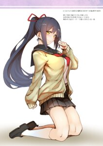 Rating: Safe Score: 24 Tags: 30min-5000yen kagami_uekusa nijisanji seifuku shizuka_rin sweater User: kiyoe