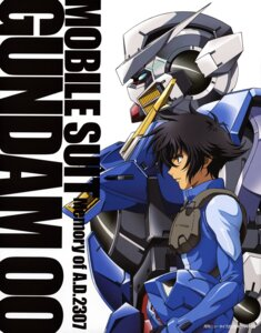 Rating: Safe Score: 5 Tags: bodysuit gundam gundam_00 gundam_exia male mecha setsuna_f_seiei User: Radioactive