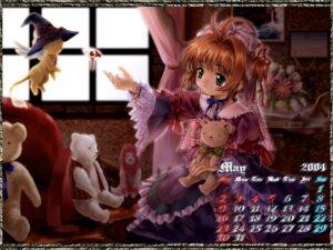 Rating: Safe Score: 9 Tags: calendar card_captor_sakura kerberos kinomoto_sakura moonknives wallpaper User: MugiMugi