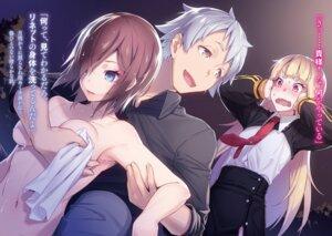 Rating: Safe Score: 24 Tags: breast_hold naked nilitsu uniform User: kiyoe