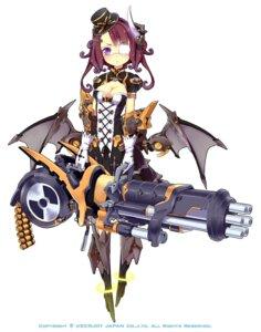 Rating: Safe Score: 51 Tags: aoi_tsunami eyepatch gothic_lolita gun lolita_fashion mecha_musume weapon wings User: blooregardo