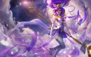 Rating: Safe Score: 25 Tags: heels janna_windforce league_of_legends thighhighs weapon User: Mr_GT