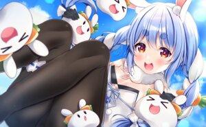 Rating: Safe Score: 16 Tags: animal_ears bunny_ears bunny_girl garter hololive nako_narita no_bra pantyhose usada_pekora User: Mr_GT