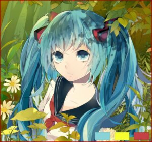 Rating: Safe Score: 19 Tags: dj.adonis hatsune_miku jpeg_artifacts seifuku vocaloid User: Radioactive