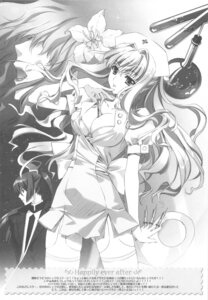 Rating: Safe Score: 15 Tags: bra carnelian cleavage macross macross_frontier monochrome nurse open_shirt saotome_alto sheryl_nome thighhighs User: charunetra