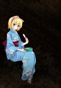 Rating: Safe Score: 15 Tags: alice_margatroid touhou tsukimiya_kamiko yukata User: fireattack