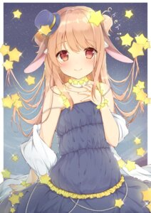 Rating: Safe Score: 50 Tags: animal_ears breast_hold dress shirosei_mochi User: sym455