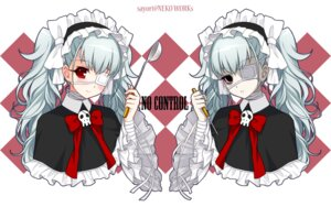 Rating: Safe Score: 27 Tags: axanael bandages eyepatch gothic_lolita lolita_fashion neko_works nooko sayori wallpaper User: blooregardo