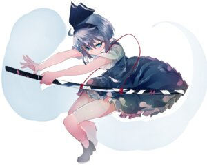 Rating: Safe Score: 25 Tags: ikurauni konpaku_youmu sword touhou User: charunetra