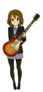 Rating: Safe Score: 9 Tags: guitar hirasawa_yui jpeg_artifacts k-on! pantyhose seifuku User: Share