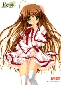 Rating: Questionable Score: 28 Tags: hinoue_itaru kanbe_kotori pantsu rewrite thighhighs User: fireattack