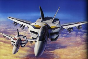 Rating: Safe Score: 9 Tags: binding_discoloration macross mecha tenjin_hidetaka User: oldwrench