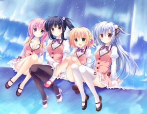 Rating: Safe Score: 53 Tags: amazing_grace_-what_color_is_your_attribute?- cabbage_soft cleavage heels kirie_(amazing_grace_-what_color_is_your_attribute?-) korie_riko kotoha_(amazing_grace_-what_color_is_your_attribute?-) open_shirt pantyhose sakuya_(amazing_grace_-what_color_is_your_attribute?-) seifuku thighhighs yune_(amazing_grace_-what_color_is_your_attribute?-) User: moonian