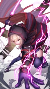 Rating: Safe Score: 33 Tags: fate/grand_order garter heroine_x_alter nekoneko_jun2_123 stockings thighhighs weapon User: Mr_GT