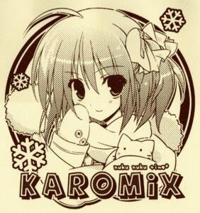 Rating: Safe Score: 15 Tags: karomix karory monochrome paper_texture raw_scan User: midzki