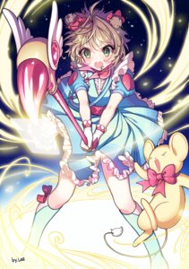 Rating: Safe Score: 18 Tags: card_captor_sakura dress kangyui kerberos kinomoto_sakura weapon User: charunetra