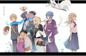 Rating: Safe Score: 8 Tags: animal_ears evers_i hinoe_(natsume_yuujinchou) hitotsume_no_chuukyuu_youkai horns jpeg_artifacts kimono kogitsune kuro_nyanko natsume_reiko natsume_takashi natsume_yuujinchou neko nyanko seifuku tail ushikao_no_chuukyuu_youkai User: hobbito