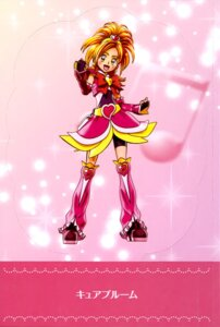 Rating: Questionable Score: 7 Tags: bike_shorts dress futari_wa_pretty_cure_splash_star hyuuga_saki pretty_cure User: drop