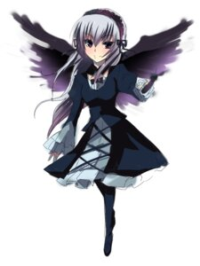 Rating: Safe Score: 5 Tags: chirosuke dress rozen_maiden suigintou wings User: charunetra