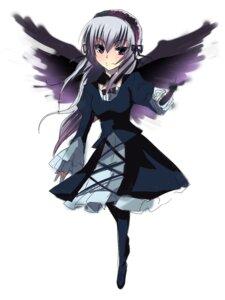 Rating: Safe Score: 3 Tags: chirosuke dress rozen_maiden suigintou wings User: charunetra