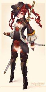 Rating: Safe Score: 57 Tags: hoko_sakuran mecha mecha_musume sword uniform weapon User: Radioactive