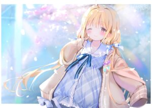 Rating: Safe Score: 40 Tags: dress futaba_anzu mullpull the_idolm@ster the_idolm@ster_cinderella_girls User: Mr_GT
