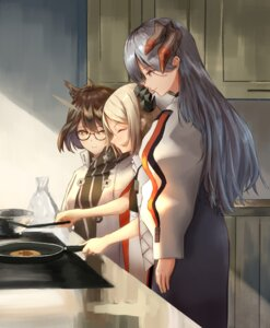 Rating: Safe Score: 17 Tags: arknights horns ifrit_(arknights) megane saria_(arknights) silent_(arknights) uzurako User: Arsy