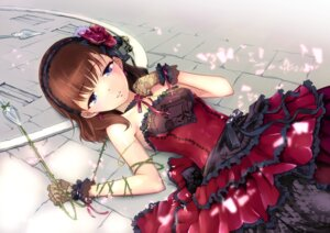 Rating: Safe Score: 41 Tags: bondage dress fishnets gothic_lolita jpeg_artifacts lolita_fashion pantyhose sakuma_mayu the_idolm@ster the_idolm@ster_cinderella_girls User: Maxpayness