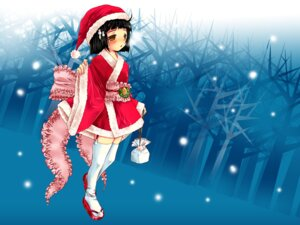 Rating: Safe Score: 14 Tags: christmas lolita_fashion stockings thighhighs wa_lolita yuunagi_seshina User: Nekotsúh