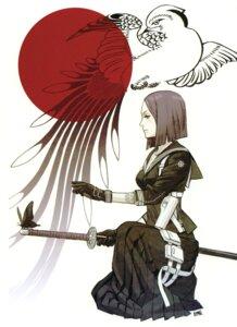 Rating: Safe Score: 14 Tags: kozaki_yuusuke scanning_artifacts seifuku sword User: Radioactive