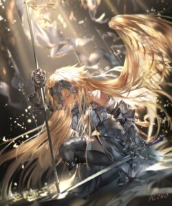 Rating: Safe Score: 59 Tags: armor avamone fate/grand_order jeanne_d'arc jeanne_d'arc_(fate) sword thighhighs wings User: Mr_GT