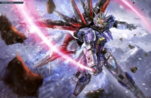 Rating: Safe Score: 7 Tags: aile_strike_gundam gundam gundam_seed gundam_seed_destiny mecha sword User: drop