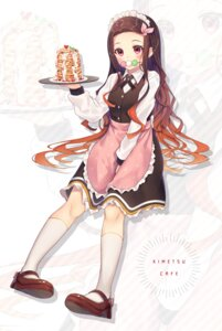 Rating: Safe Score: 21 Tags: gyouzanuko heels kamado_nezuko kimetsu_no_yaiba maid waitress User: Mr_GT