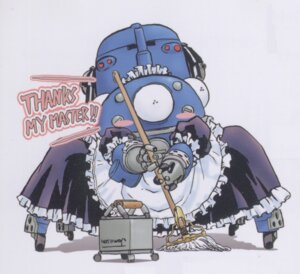 Rating: Safe Score: 15 Tags: ghost_in_the_shell maid mecha screening shirow_masamune tachikoma User: zhukovsan
