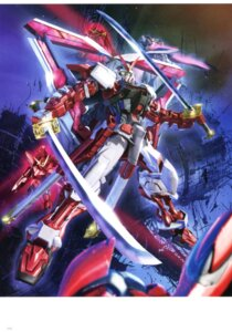 Rating: Questionable Score: 7 Tags: gundam gundam_astray_red_frame gundam_seed_astray tenjin_hidetaka User: Radioactive