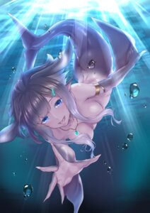 Rating: Questionable Score: 36 Tags: kurofude_anastasia mermaid monster_girl naked tail User: Mr_GT