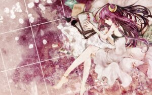 Rating: Safe Score: 27 Tags: dress duca patchouli_knowledge summer_dress touhou wallpaper User: Mr_GT