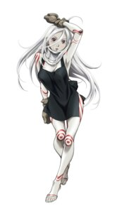 Rating: Safe Score: 29 Tags: bodysuit cleavage deadman_wonderland shiro_(deadman_wonderland) vector_trace yamada_masaki User: herpderp