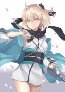 Rating: Safe Score: 35 Tags: 100percent fate/grand_order japanese_clothes sakura_saber sword User: Nepcoheart