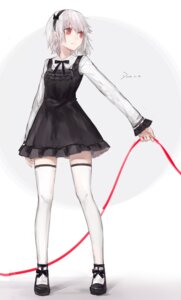 Rating: Safe Score: 37 Tags: +) dress stockings thighhighs watercolor User: zero|fade