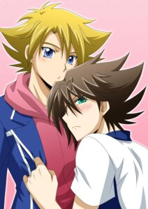 Rating: Safe Score: 4 Tags: cardfight_vanguard kai_toshiki male miwa_taishi tsunoda_wei yaoi User: charunetra